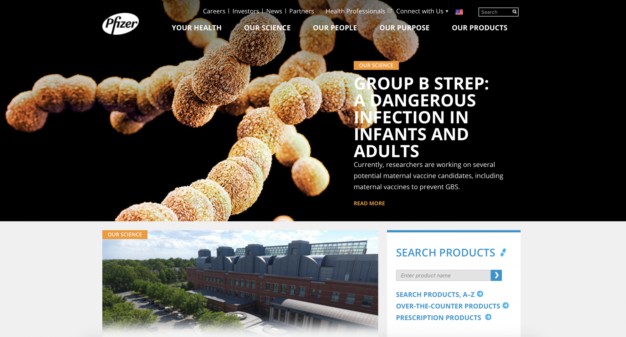 Pfizer website